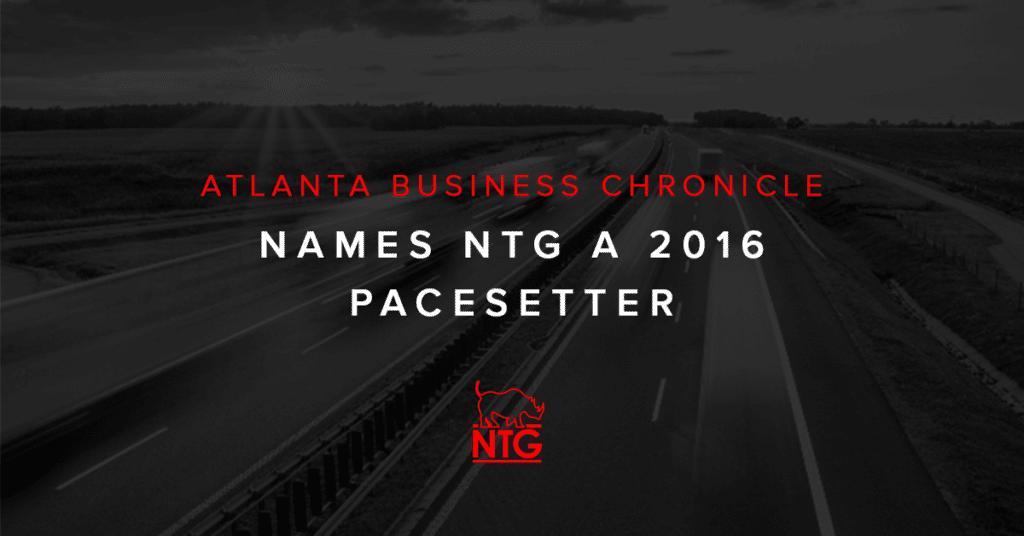NTG Award Announcement - ABC 2016 Pacesetter