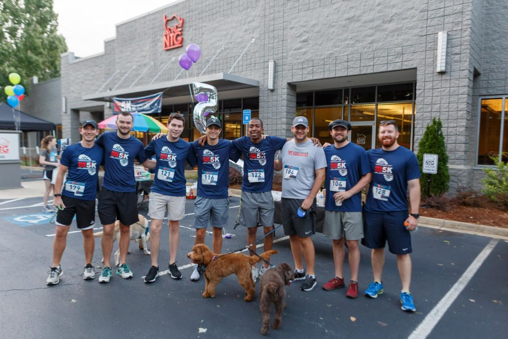 NTG Rhino 5K group picture