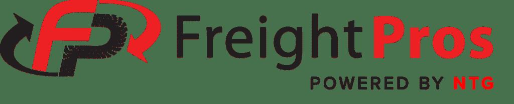 FreightPros powered by NTG transparent logo