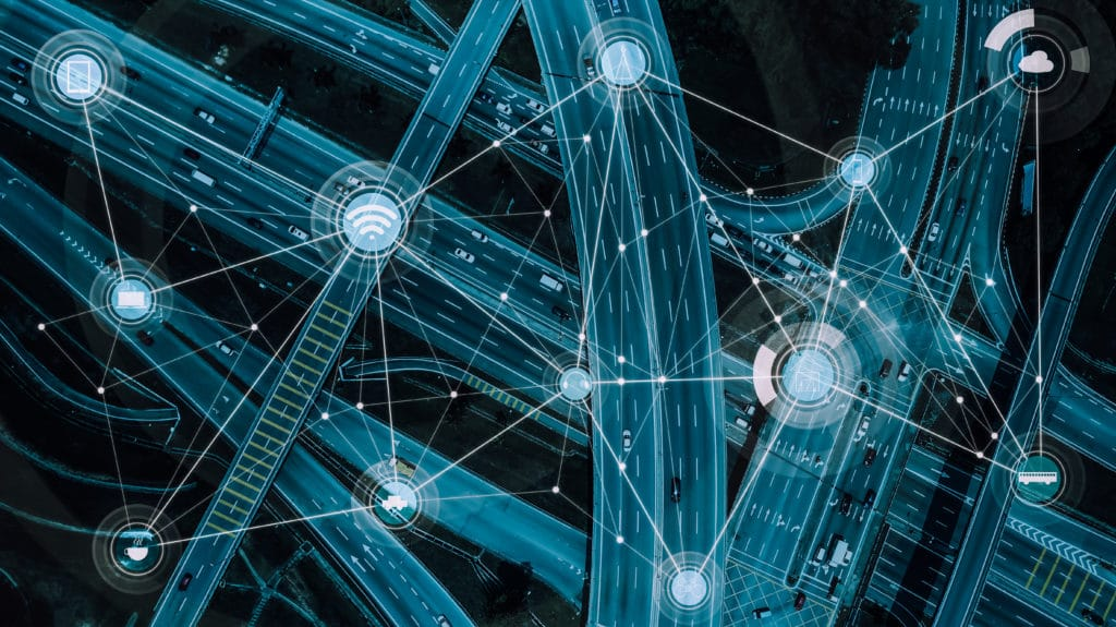 Logistics Technology Stock Photo