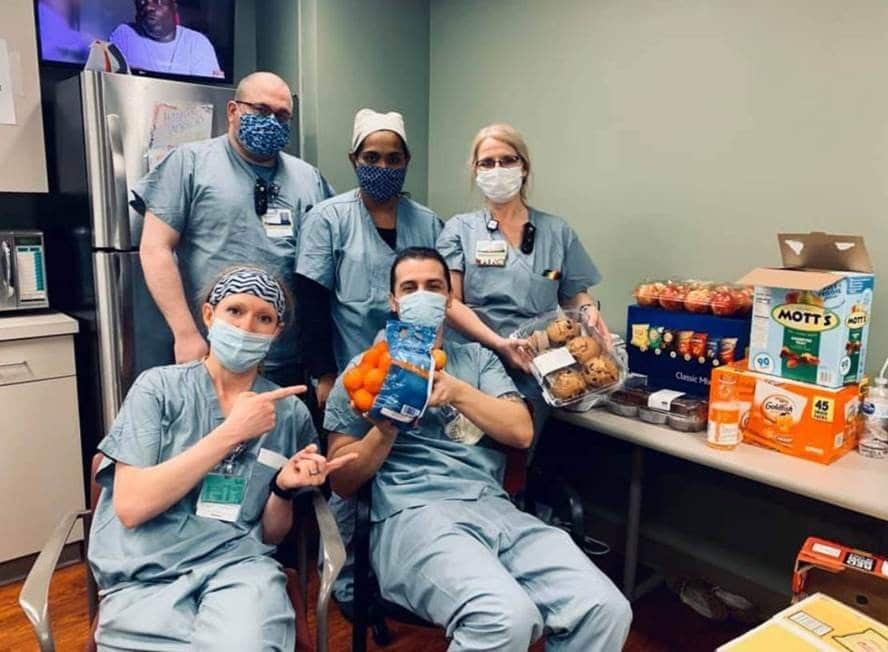 Feeding the Frontlines Doctors with Food blog cover