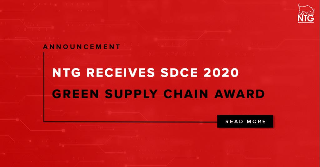 NTG Supply Chain Green Award