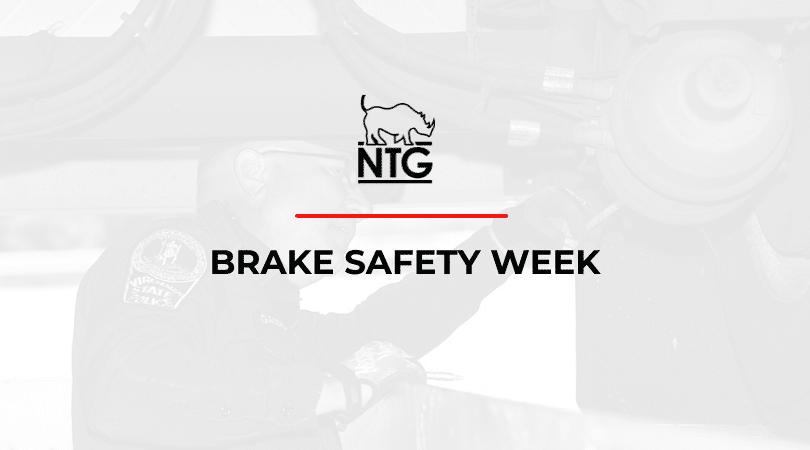 Brake Safety Week title graphic