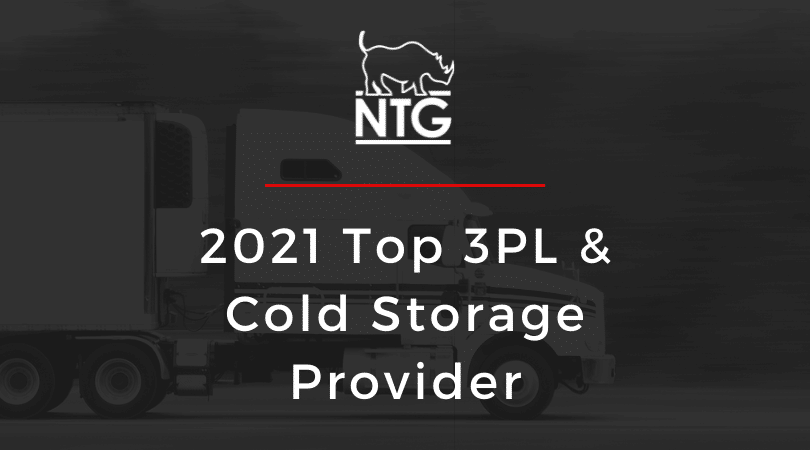 2021 Food Logistics Top Cold Chain graphic